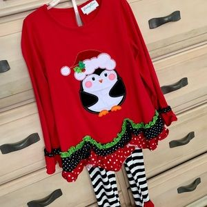 Emily Rose holiday penguin outfit🎄🐧 size 8